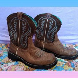 Ariat Blue Stitch Cowboy Boots